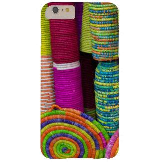 Funda Barely There Para Phone 6 Plus Cestas coloridas en el mercado