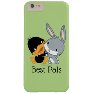 Funda Barely There Para Phone 6 Plus Chibi DAFFY DUCK™ y ™ de BUGS BUNNY