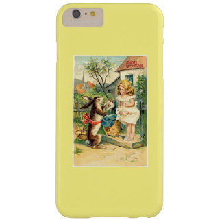 Funda Barely There Para Phone 6 Plus Chica del día de fiesta y caso del iPhone 6 de