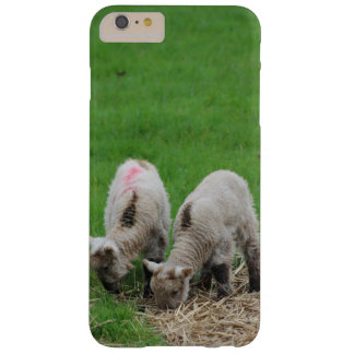 Funda Barely There Para Phone 6 Plus Corderos de la primavera