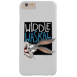 Funda Barely There Para Phone 6 Plus ™ de BUGS BUNNY - Widdle Waskal