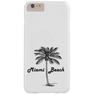 Funda Barely There Para Phone 6 Plus Diseño blanco y negro del Palm Beach la Florida y