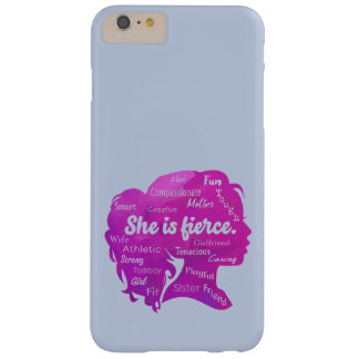 Funda Barely There Para Phone 6 Plus Ella es feroz