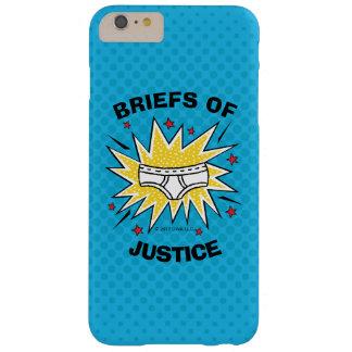 Funda Barely There Para Phone 6 Plus Escritos de capitán Underpants el | de la justicia