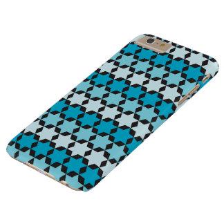 Funda Barely There Para Phone 6 Plus Estrella de la caja azul del teléfono de David