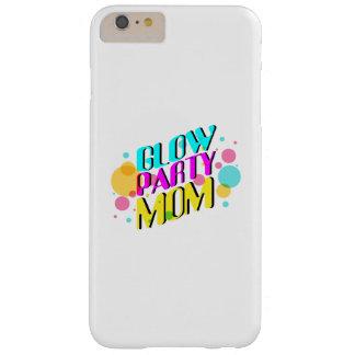 Funda Barely There Para Phone 6 Plus Fiesta de neón de los años 80 del tema de la mamá