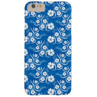 Funda Barely There Para Phone 6 Plus Floral blanco precioso