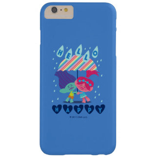 Funda Barely There Para Phone 6 Plus Gotas de lluvia felices de los duendes el |