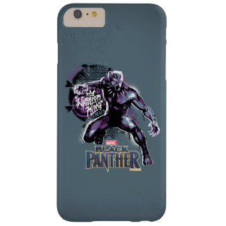 Funda Barely There Para Phone 6 Plus Graphic del guerrero de la pantera negra el | de