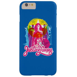 Funda Barely There Para Phone 6 Plus Grupo de la liga de justicia el | y arte pop