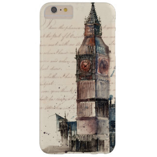 Funda Barely There Para Phone 6 Plus Letras de Big Ben