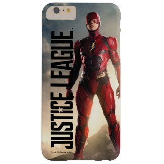 Funda Barely There Para Phone 6 Plus Liga de justicia el | el flash en campo de batalla