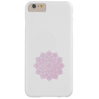 Funda Barely There Para Phone 6 Plus Mil pétalos Lotus, rosado