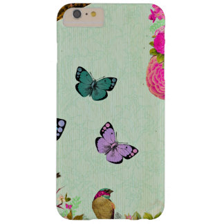 Funda Barely There Para Phone 6 Plus Moda lamentable, moda francesa, vintage, floral,