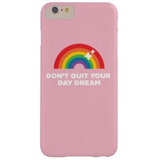 Funda Barely There Para Phone 6 Plus No abandone su caso del iPhone del sueño del día