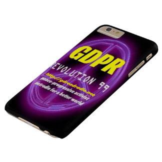 Funda Barely There Para Phone 6 Plus Paxspiration GDPR Smartphone/caja de la tableta