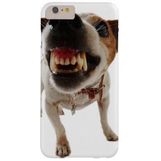 Funda Barely There Para Phone 6 Plus Perro agresivo - perro enojado - perro divertido