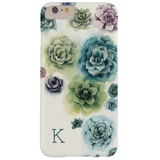 Funda Barely There Para Phone 6 Plus Racimo de Succulents