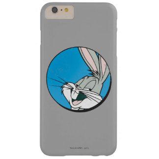 Funda Barely There Para Phone 6 Plus Remiendo azul retro del ™ de BUGS BUNNY