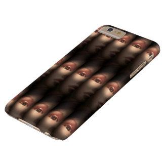 Funda Barely There Para Phone 6 Plus Shhh… caso del iPhone 6/6s
