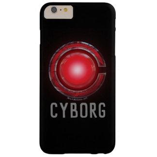 Funda Barely There Para Phone 6 Plus Símbolo del Cyborg de la liga de justicia que