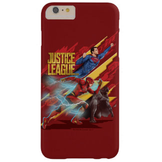 Funda Barely There Para Phone 6 Plus Superhombre de la liga de justicia el |, flash, y
