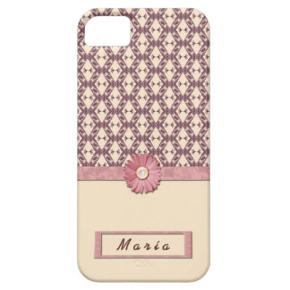 FUNDA CARCASA CASE IPHONE 5 VINTAGE FLOWERS LACE