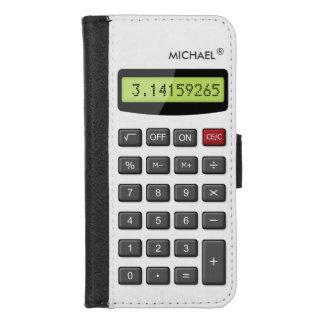 Funda Cartera Calculadora fresca de la diversión - dígitos del