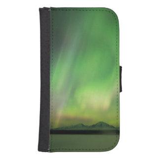Funda Cartera Para Galaxy S4 Aurora bonita
