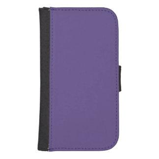 Funda Cartera Para Galaxy S4 Color ultravioleta