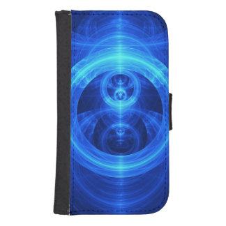 Funda Cartera Para Galaxy S4 El símbolo del propósito, círculos de cristal