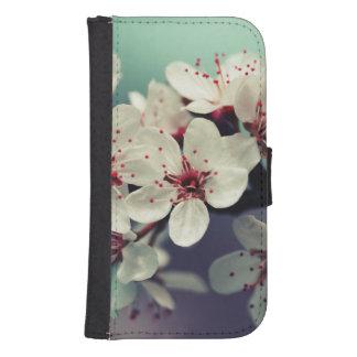 Funda Cartera Para Galaxy S4 Flor de cerezo rosada, Cherryblossom, Sakura