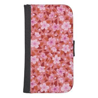 Funda Cartera Para Galaxy S4 Sakura