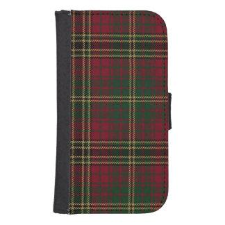Funda Cartera Para Galaxy S4 Tela escocesa de Achnacloich del lago
