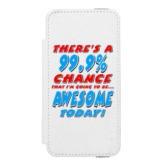 Funda Cartera Para iPhone 5 Watson 99,9% El IR A SER IMPRESIONANTE (negro)