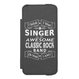 Funda Cartera Para iPhone 5 Watson Banda de rock clásica impresionante del CANTANTE