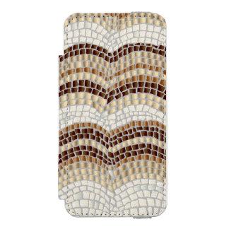 Funda Cartera Para iPhone 5 Watson Caja beige de la cartera del iPhone SE/5/5s del