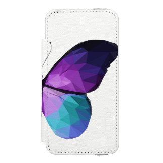 Funda Cartera Para iPhone 5 Watson Caja de la cartera del teléfono de la mariposa