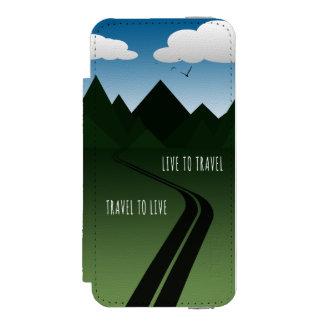 Funda Cartera Para iPhone 5 Watson Camino de la montaña