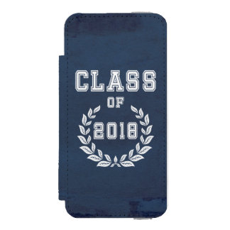 Funda Cartera Para iPhone 5 Watson Clase de 2018
