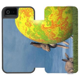 Funda Cartera Para iPhone 5 Watson Huevo de Pascua - 3D rinden