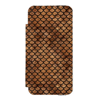 FUNDA CARTERA PARA iPhone 5 WATSON MÁRMOL SCALES1 Y BROWN NEGROS (R) DE PIEDRA