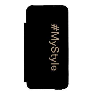 Funda Cartera Para iPhone 5 Watson MyStyle Portmonaie funda