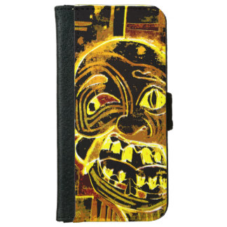 Funda Cartera Para iPhone 6/6s Caja extraña y rara del teléfono (Iphone +