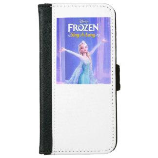 Funda Cartera Para iPhone 6/6s Congelado