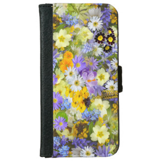 Funda Cartera Para iPhone 6/6s Diseño floral en el caso Iphone6