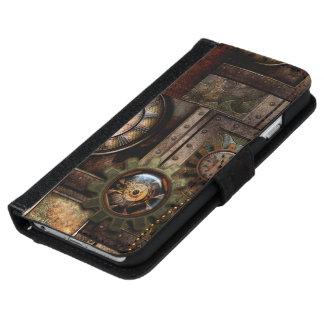 Funda Cartera Para iPhone 6/6s Diseño maravilloso del steampunk
