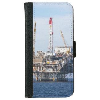 Funda Cartera Para iPhone 6/6s Plataforma petrolera