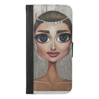 Funda Cartera Para iPhone 6/6s Plus Audrey