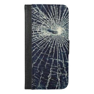 Funda Cartera Para iPhone 6/6s Plus Caja rota del iphone 6/6s